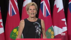 Kathleen Wynne thanks media and shares next steps in transition process